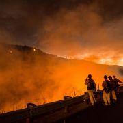 Waldbrände in Kalifornien: Teilerfolg und neue Warnungen (Foto)