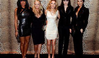 Die Spice Girls hier bei einer Musical Premiere. (Foto)