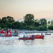 Vater will Sohn retten und ertrinkt im Rhein (Foto)