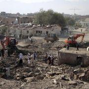 Angriff auf Nato-Mission nach schwerer Anschlagserie in Kabul (Foto)