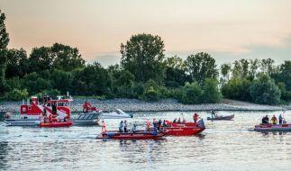 Vater und Sohn ertrinken im Rhein (Foto)