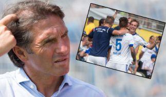 Kein guter Tag für Trainer Bruno Labbadia. (Foto)