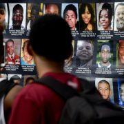 Schüsse in Ferguson nach Gedenken an Michael Brown (Foto)