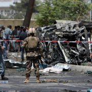 Tödlicher Bombenanschlag der Taliban am Flughafen von Kabul (Foto)