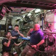 ISS-Crew isst erstmals Weltraum-Gemüse (Foto)