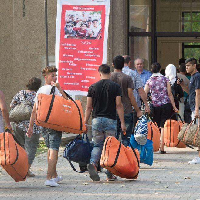 Warum Flüchtlinge nach Deutschland kommen (Foto)