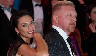 Boris Becker und seine Frau Lilly. (Foto)