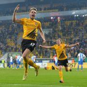 Flutlicht-Match der 3. Liga: Dynamo schlägt Erfurt mit 3:1 (Foto)