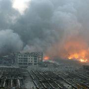 Viele Tote nach gewaltiger Explosion in China (Foto)