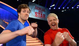 """Luke Mockridge (li.) und Ross Antony treten bei """"Schlag den Star"""" gegeneinander an. (Foto)"""