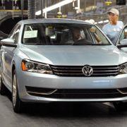 Airbag-Probleme:VW ruft 420 000 Autos in USA zurück (Foto)