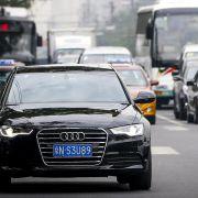 Audi in China auf Talfahrt (Foto)