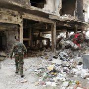 Syrische Rebellen wollen Damaskus das Trinkwasser abdrehen (Foto)