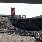 Gefährliche Hitzeschäden auf Autobahnen (Foto)
