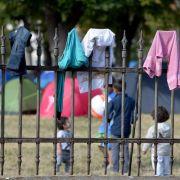 Amnesty: Zustände in Flüchtlingslager beiWien «unmenschlich» (Foto)