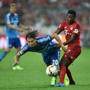 FC Bayern zelebriert klaren Auftaktsieg - 5:0 gegen Hamburger SV (Foto)