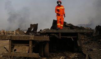 In China ist es zu einer erneuten Explosion gekommen. (Foto)