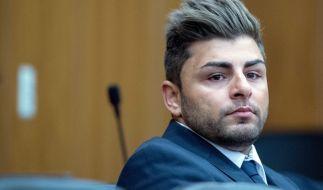 DSDS-Sieger Severino Seeger vor Gericht. Er wurde zu einer Haftstrafe von einem Jahr und neun Monaten auf Bewährung verurteilt. (Foto)