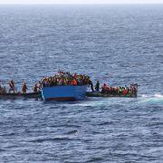 Mindestens 40 tote Flüchtlinge auf Mittelmeer (Foto)