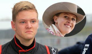 Mick Schumacher und Gina feiern sportliche Erfolge. (Foto)