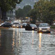 Das droht Ihnen jetzt! Gewitter, Starkregen und Aquaplaning (Foto)