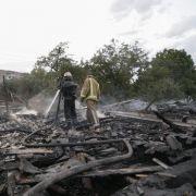 Tote bei «intensivstem Beschuss seit Monaten» in der Ukraine (Foto)