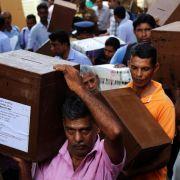 Wahl auf Sri Lanka begonnen: Alter Machthaber will Rückkehr (Foto)