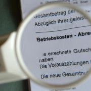 «Zweite Miete»: Betriebskosten bleiben stabil (Foto)