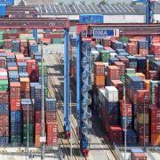 Hamburger Hafen leidet unter Krisen in China und Russland (Foto)