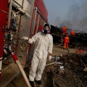 Auswärtiges Amt warnt vor giftiger Luft in Tianjin (Foto)