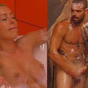 Sexy Duschszenen! Penis-Massage und feuchte Spielchen (Foto)