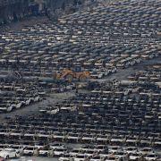 Nach Explosion in Tianjin: VWweicht über Schanghai aus (Foto)