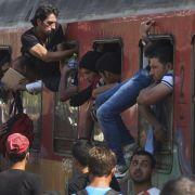 Zahl der Asylanträge steuert auf Allzeithoch zu (Foto)