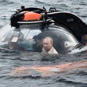 Kremlchef auf geheimer Mission im Schwarzen Meer (Foto)