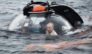 Putin auf Tauchgang im Schwarzen Meer. (Foto)
