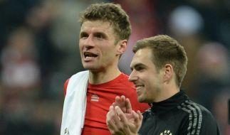 Thomas Müller und Philipp Lahm bald getrennt? (Foto)