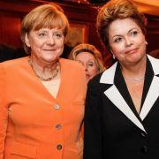 Brasiliens Regierung:Merkel glaubt an uns (Foto)