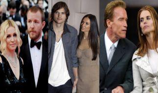Egal ob Madonna, Ashton Kutcher oder Arnold Schwarzenegger - sie alle haben eines gemeinsam: eine teure Scheidung! (Foto)