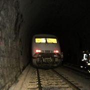 ICE-Fahrgäste sitzen nach Panne imTunnel im Dunkeln (Foto)