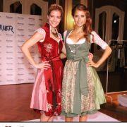 Dirndl-Show mit Schwester Vanessa Fischer (Foto)