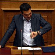 Tsipras will eigenen Rücktritt erzwingen (Foto)