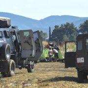 Mazedonien erklärt wegen Flüchtlingen Notstand an Grenzen (Foto)