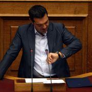 Griechischer Regierungschef Tsipras erklärt Rücktritt (Foto)