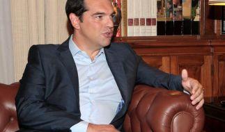 Gläubiger warnen Tsipras: Athen muss Sparauflagen auch nach Neuwahlen erfüllen. (Foto)