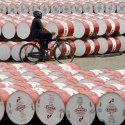 Ölpreise fallen weiter - Wachsende China-Sorgen belasten (Foto)