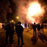 Rechtsextreme attackieren Flüchtlingsheim bei Dresden (Foto)