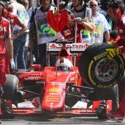 Stinksauer! Sebastian Vettel wütet gegen Pirelli (Foto)