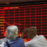 Shanghaier Börse erlebt schlimmsten Einbruch seit acht Jahren (Foto)