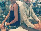 """Heidi Klum hat sich bei den Dreharbeiten zu """"Project Runway"""" verletzt. (Foto)"""