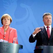 Kanzlerin beklagt Rückschläge in ukrainischem Friedensprozess (Foto)